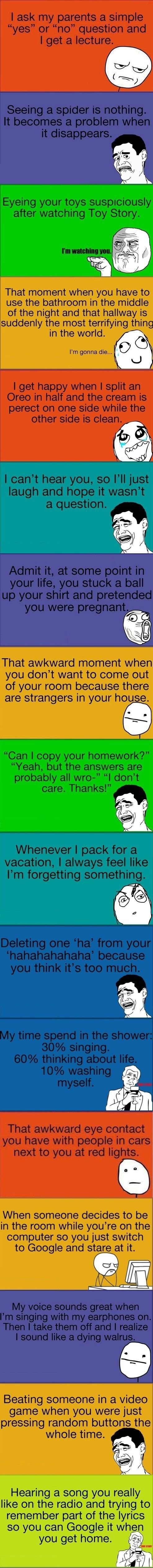 Oh my gosh laughing the whole time almost alll of them are exactly true for me I do nearly every single one of those!! Soooo glad to know that I'm not the only one for the computer! Lol
