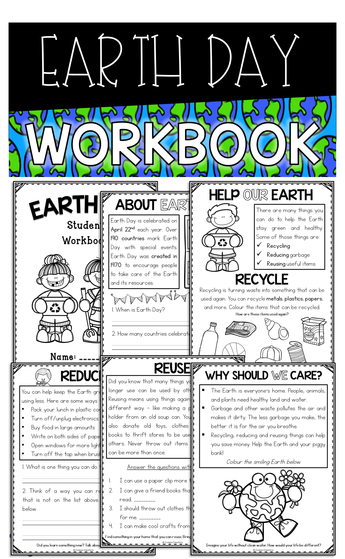Earth Day Student Booklet