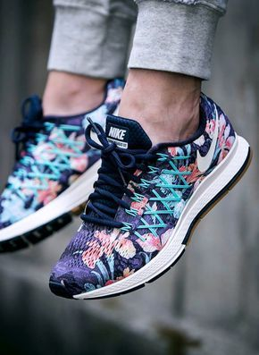 NIKE AIR ZOOM PEGASUS 32---LOVE the floral print on these sneakers! | Shoe  Envy | Pinterest | Pegasus, Floral and Printing