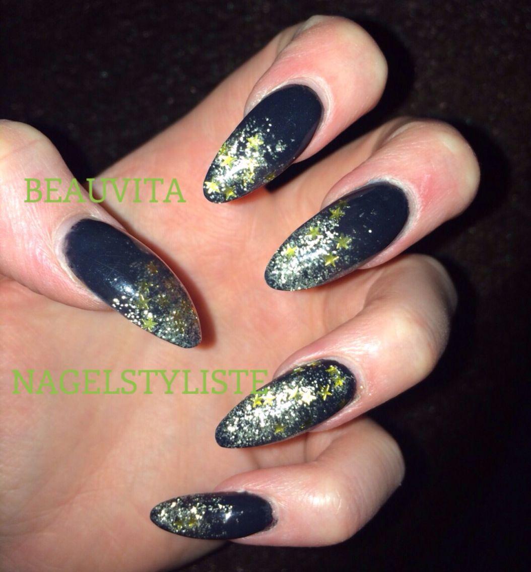 Zwart met sterretjes glitters - Kerst   Pinterest - Sterretjes ...