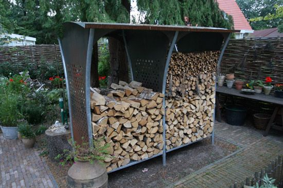 17 Best images about Fire wood racks on Pinterest | Wood rack, Woods and  Wood shed