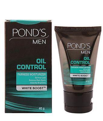 3 Pack New Ponds Men Oil Control Fairness Moisturizer 40 Gram