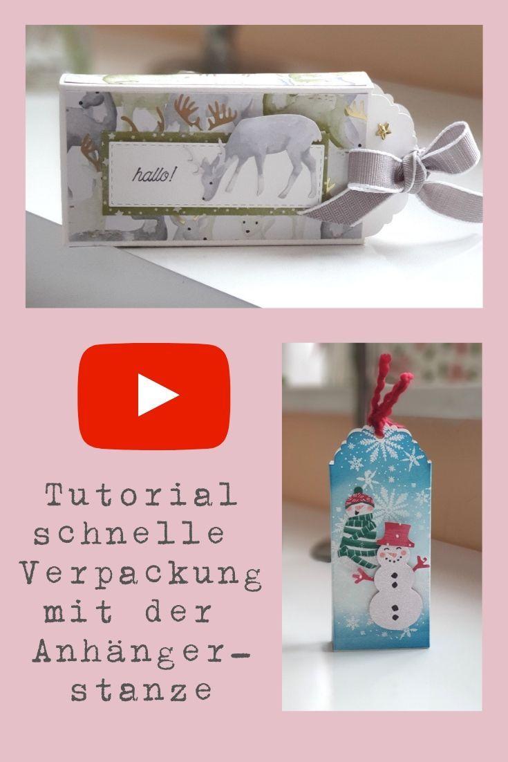 Anleitung Verpackung Stampin UP! bezaubender Anhänger #stampinupcatalog