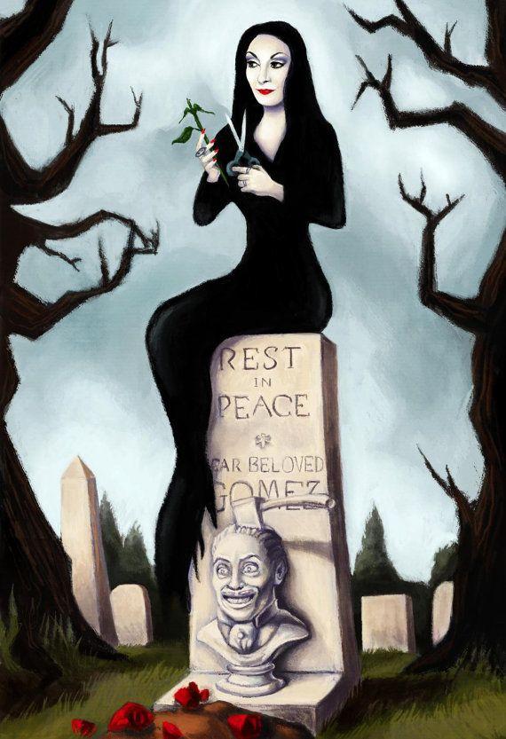 Addams Family Values Cake Bomb
