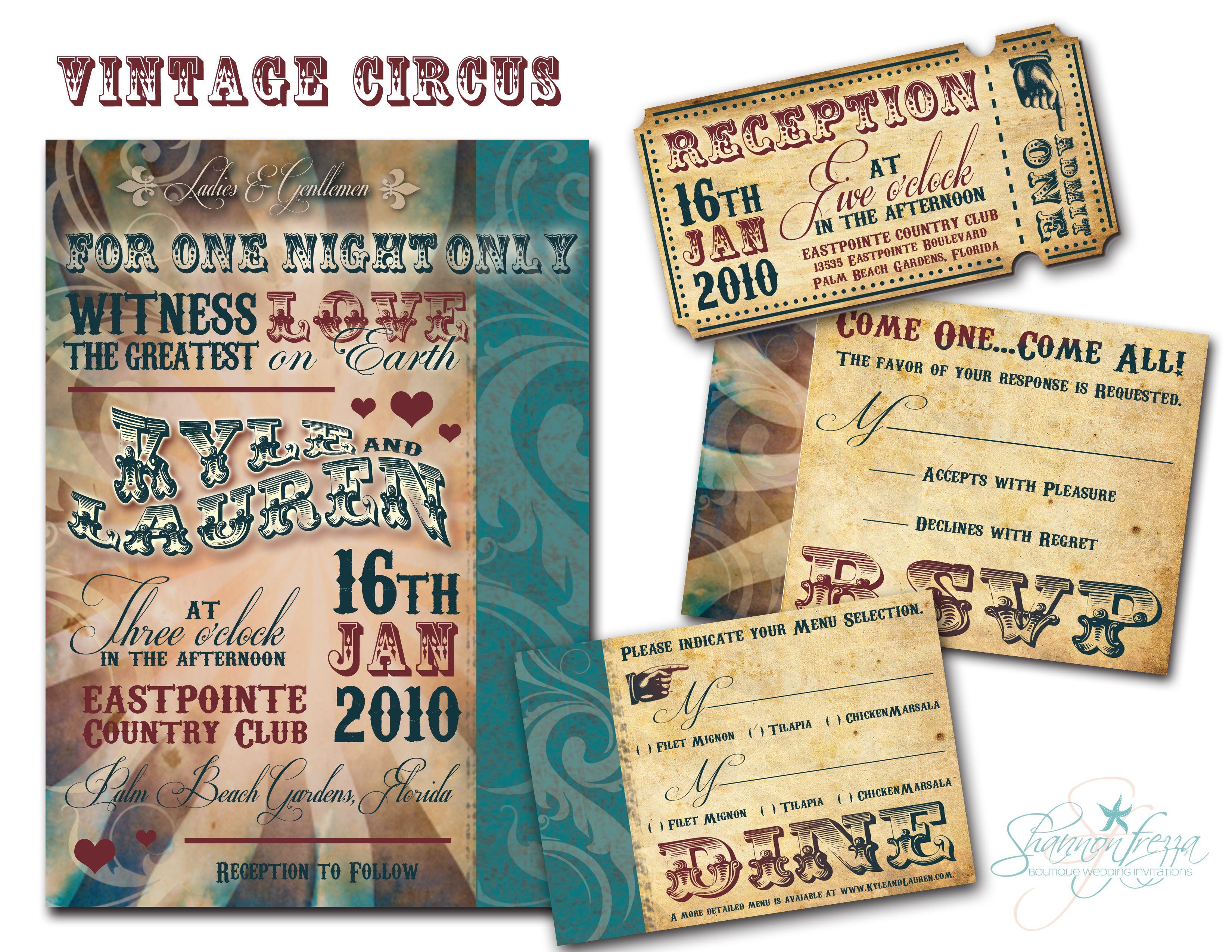 etsy carnival wedding invitations - 28 images - carnival wedding ...