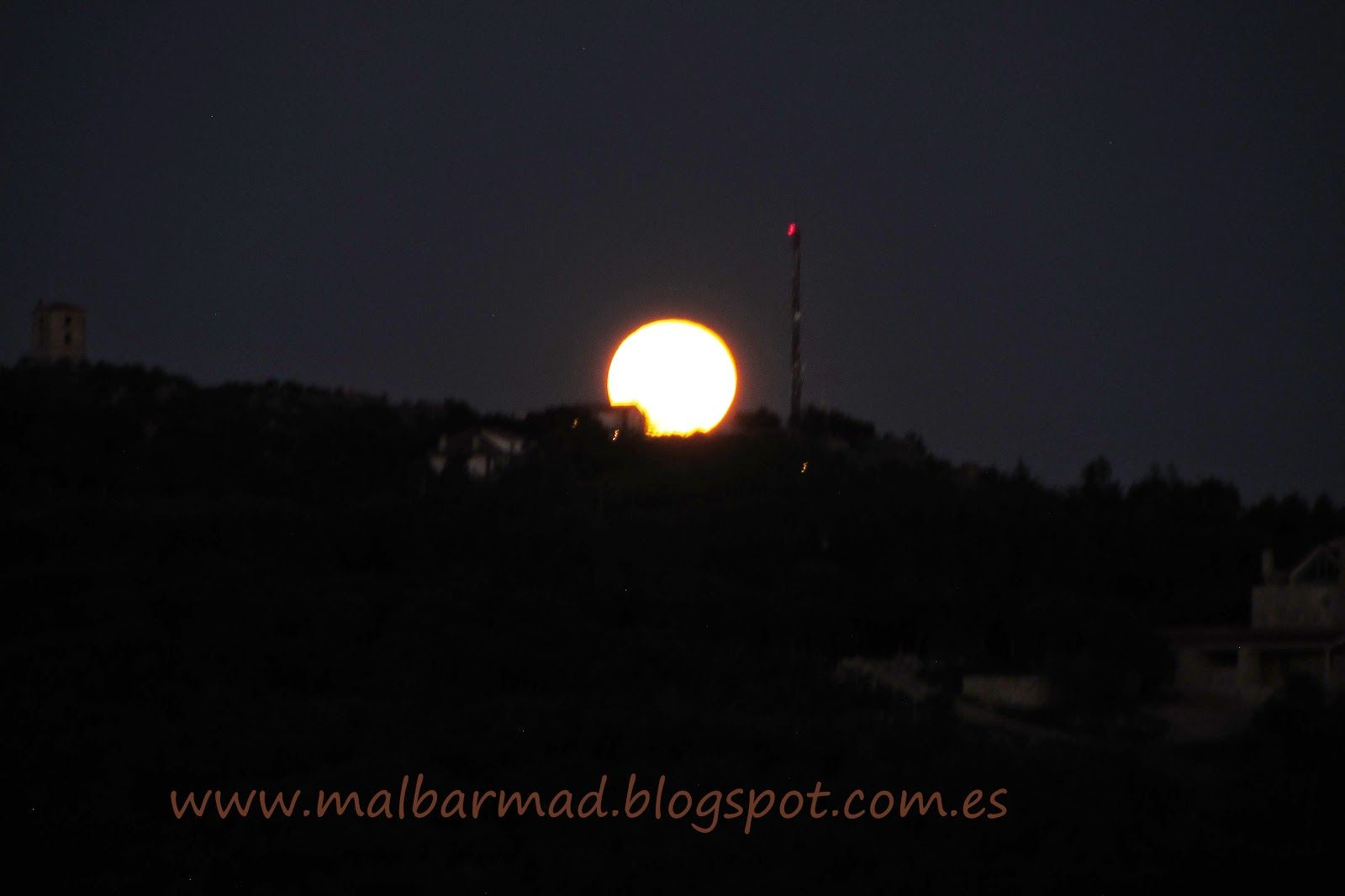 Mi Mundo en Fotografias: Luna llena de Abril
