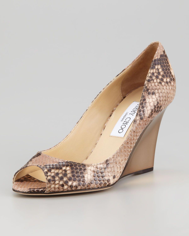 8b561f6b437 http   ncrni.com jimmy-choo-baxen-peep-toe-snake-print-wedge-pump-p ...