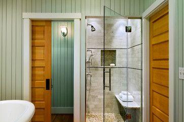 Roda By Basco From Houzz Com Beach Theme Bathroom Shower Doors