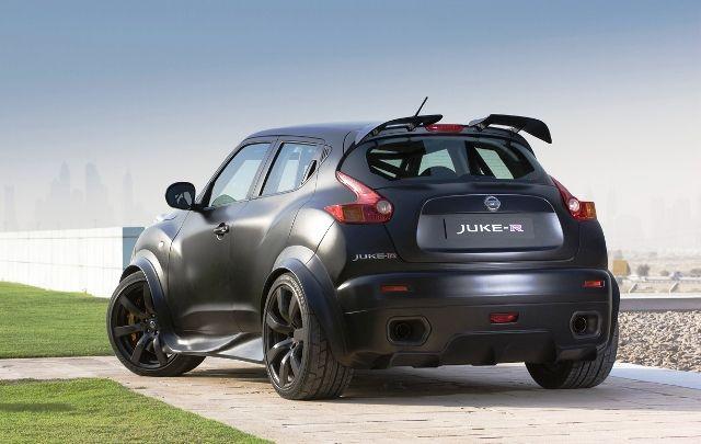 Nissan Juke R Specs, Review, Exterior, Interior Rear