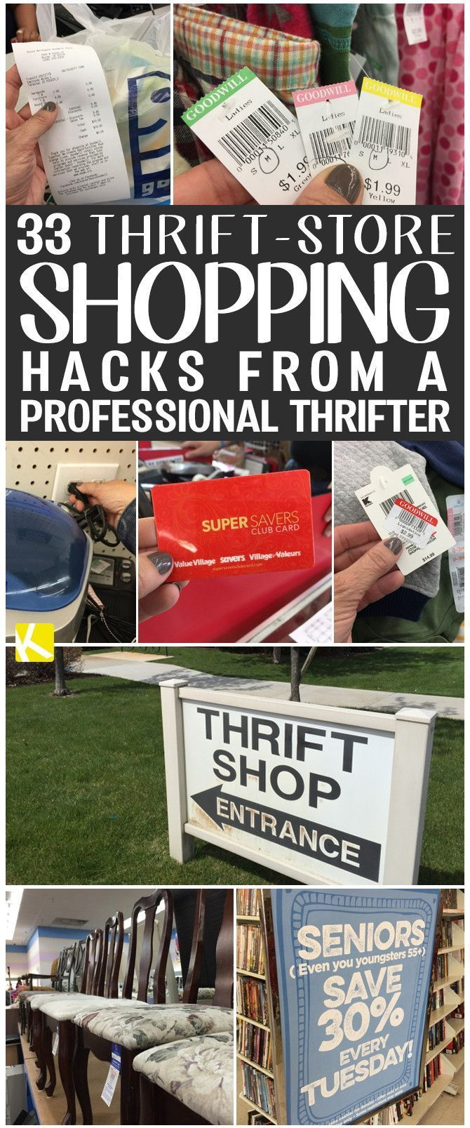 33 Thrift Store Shopping Hacks From A Professional Thrifter