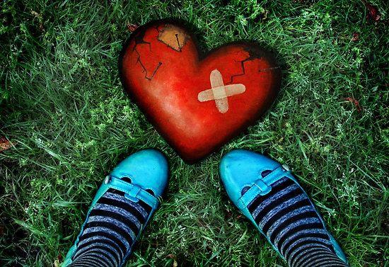 How to mend a broken heart by Amanda Cass