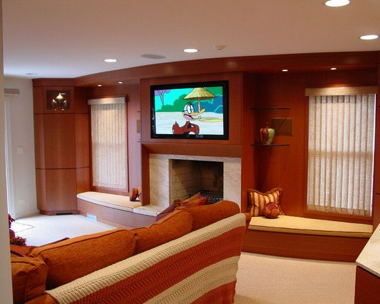 Entertainment Wall Units Design,like the sitting areas