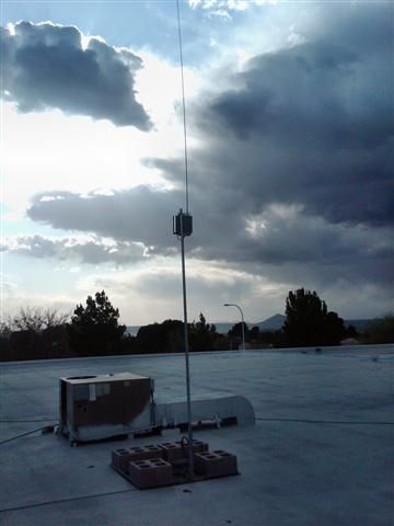 Our Roof Mounted Am Broadcast Antenna System Low Power
