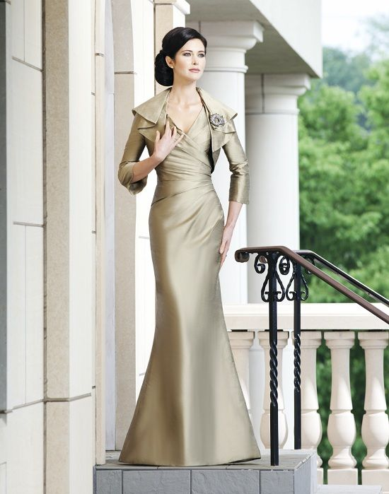 This Pretty Satin Evening Gown Would Stunning On Any Mother Of The Bride We Are