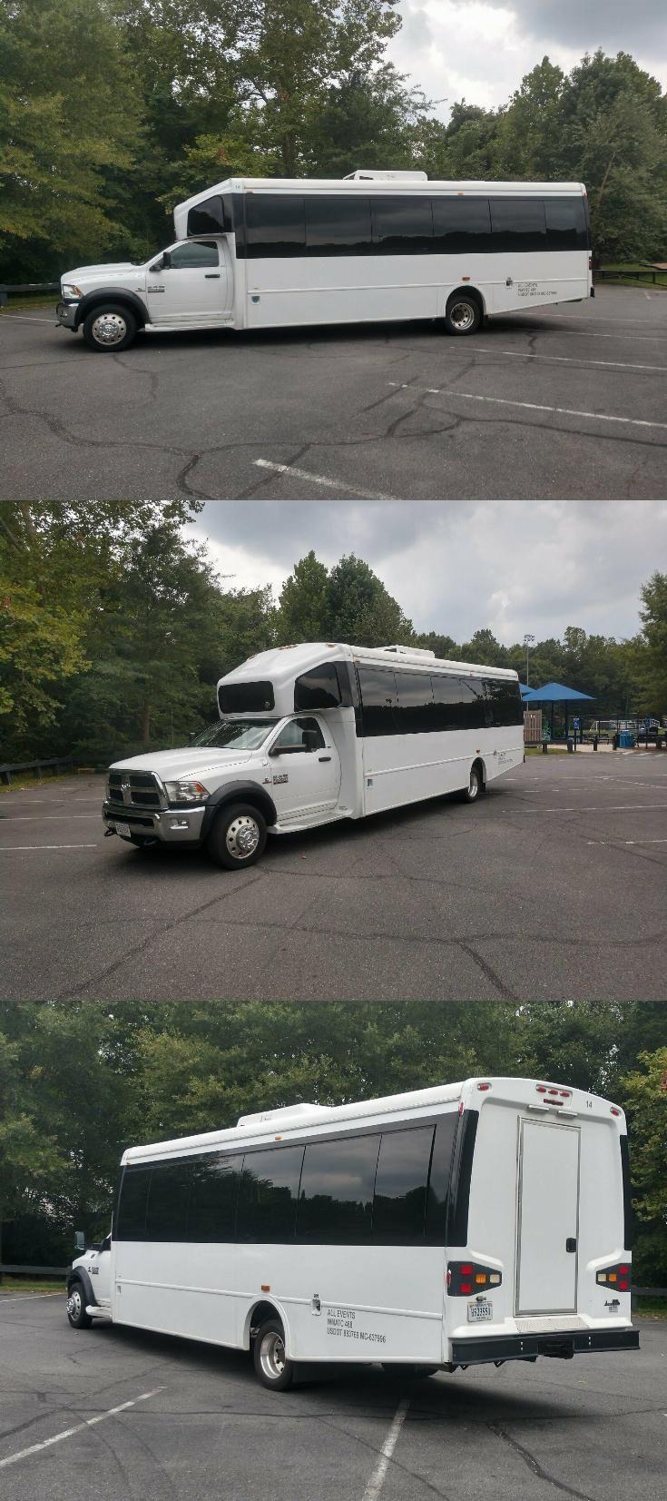 2013 Dodge Ram 5500 Charter bus, Church bus, Tour bus