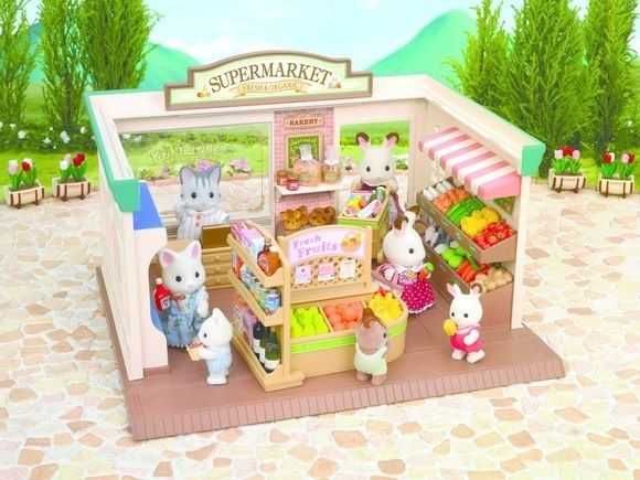 SYLVANIAN FAMILIES Набор Супермаркет go shopping Pinterest