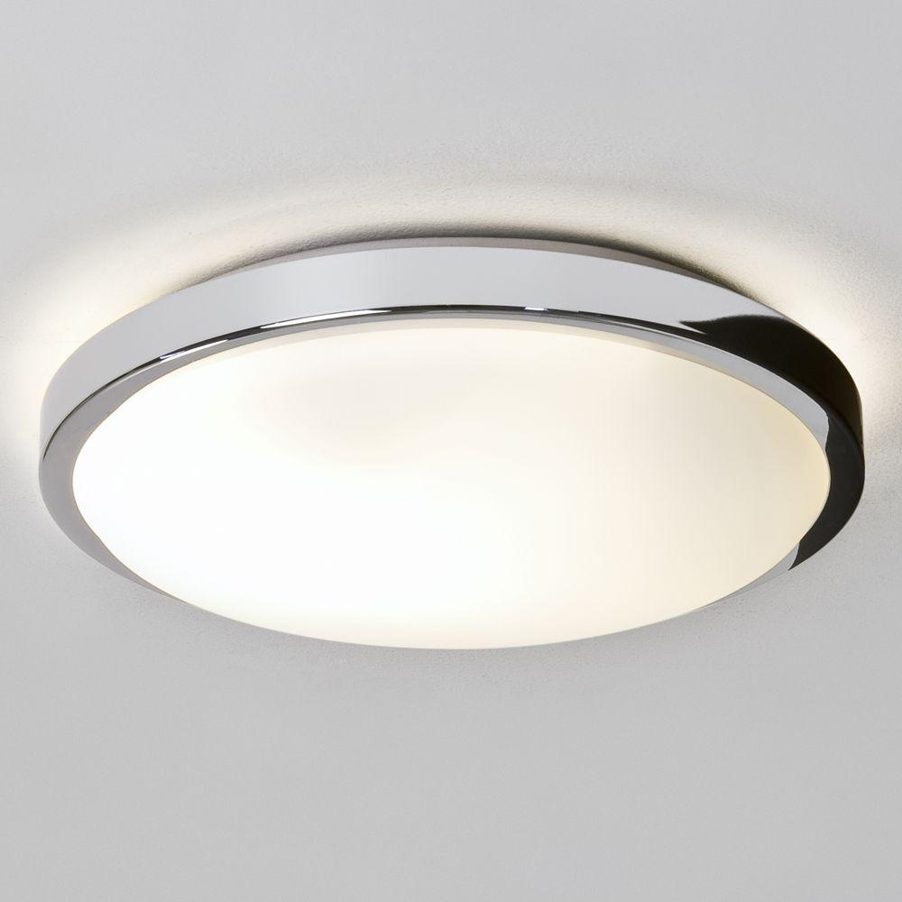 Astro Lights Denia IP44 Bathroom Ceiling Light in Polished