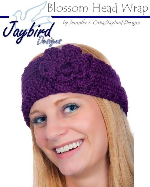 Crochet Head Band I want my sister to make for me!!   headbands ...