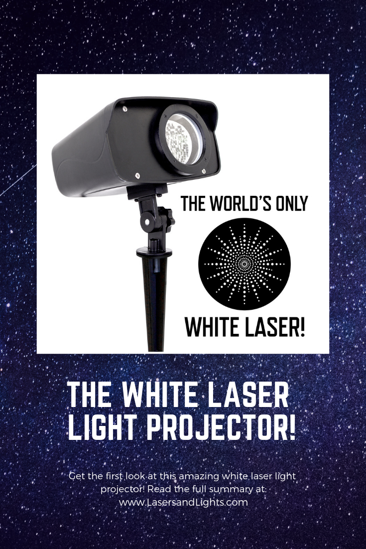 Introducing The World S Only White Laser Light Projector Laser Lights Projector Laser Lights Light Display