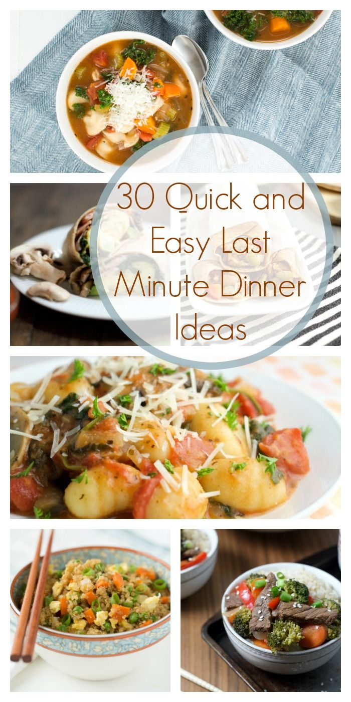 7super-delicious dinners you can make inless than 20minutes