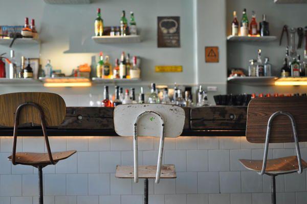 用復古機械零件,打造一間充滿時代魅力的咖啡廳   大人物