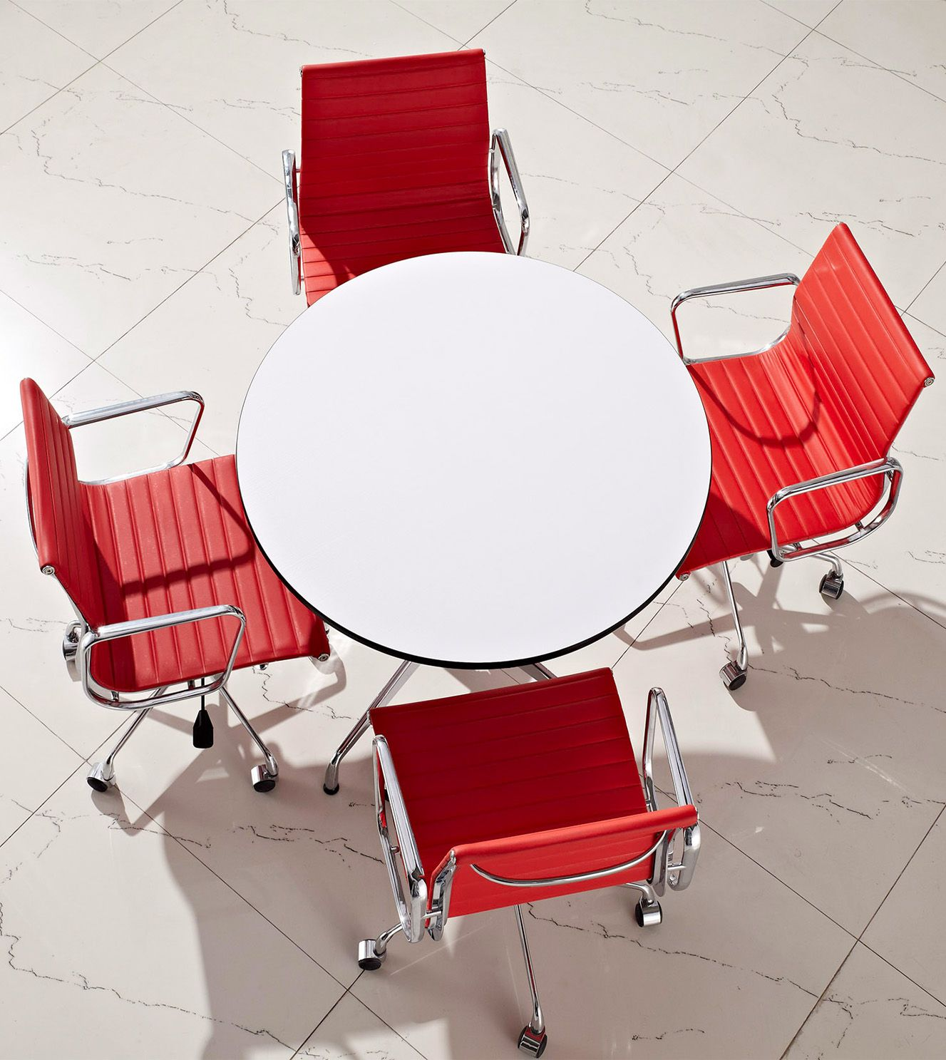 Copy Designer Furniture meeting table in the modern office environment. replica designer