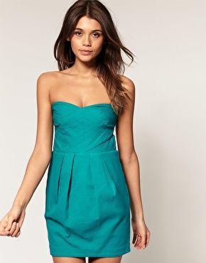 buying this. ASOS Cross Front Tulip Skirt Dress, $81.81