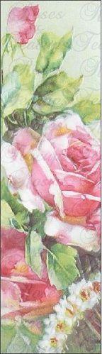 Set of 10 Quantity Bookmarks - Roses