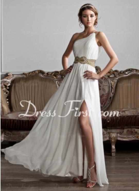 Absolutely love this Greek inspired dress from Dress First! Check ...