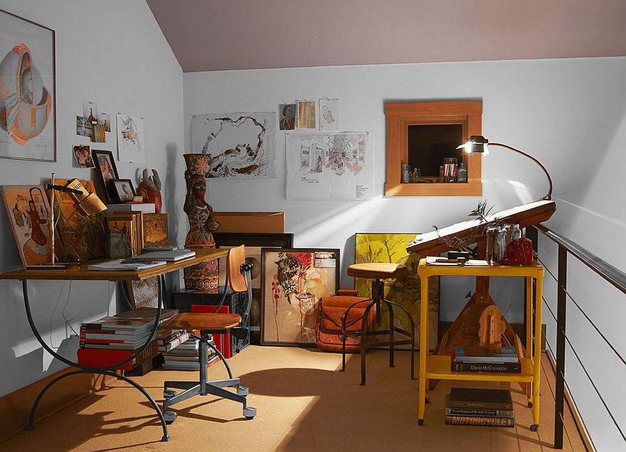 Small home office design idea Photography Aaron