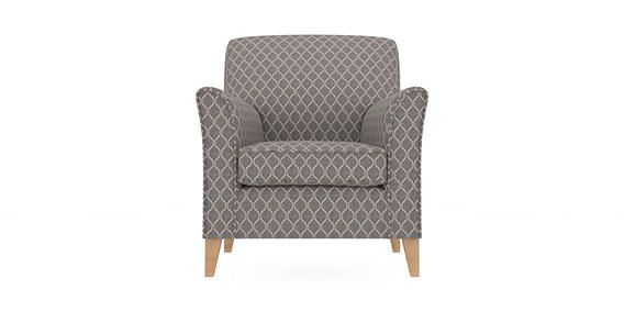 Buy Alfie Chair (1 Seat) Woven Geometric Grey High Tapered - Light from the Next UK online shop