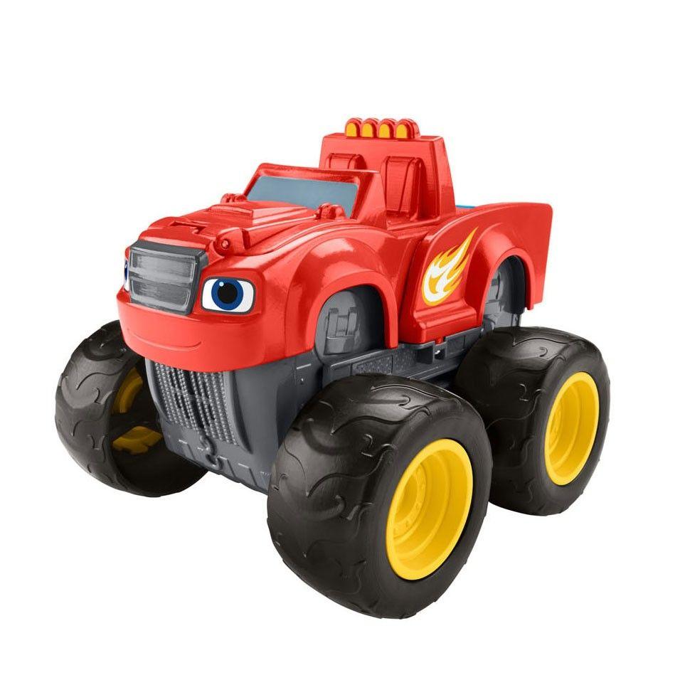 Fisher Price Blaze En De Monsterwielen Kraanwagen Blaze Takelwagen Tow Truck Kraanwagen