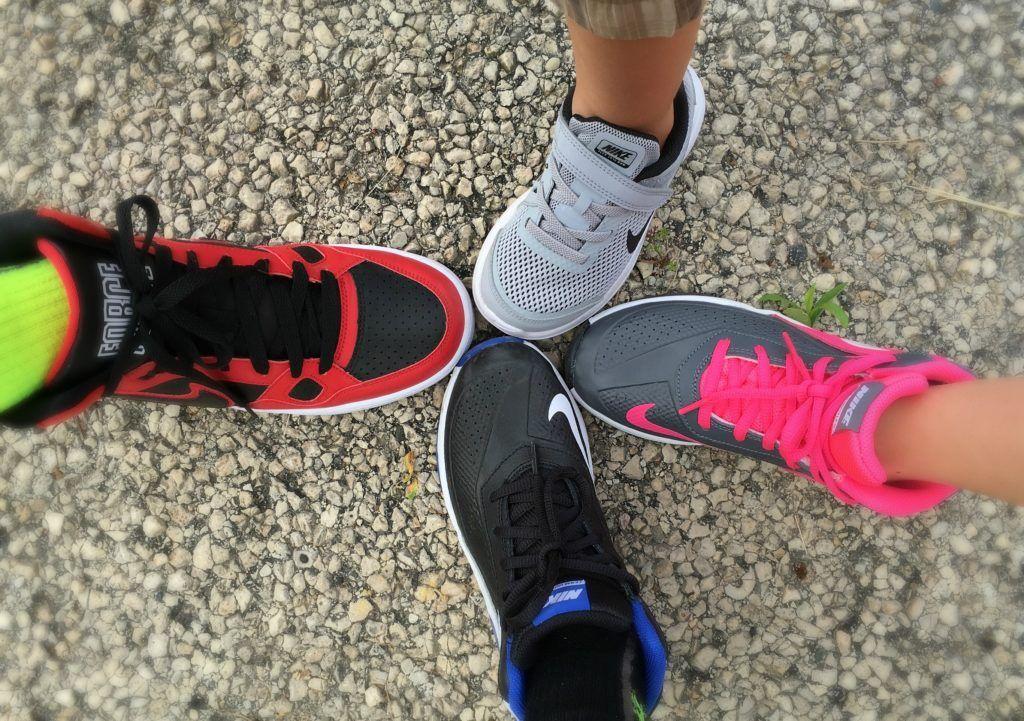 luego Alianza Paternal  Back to School Nike Sneakers Sale at Rack Room Shoes - momma in flip flops  | Sneakers nike, Sneakers for sale, Sneakers