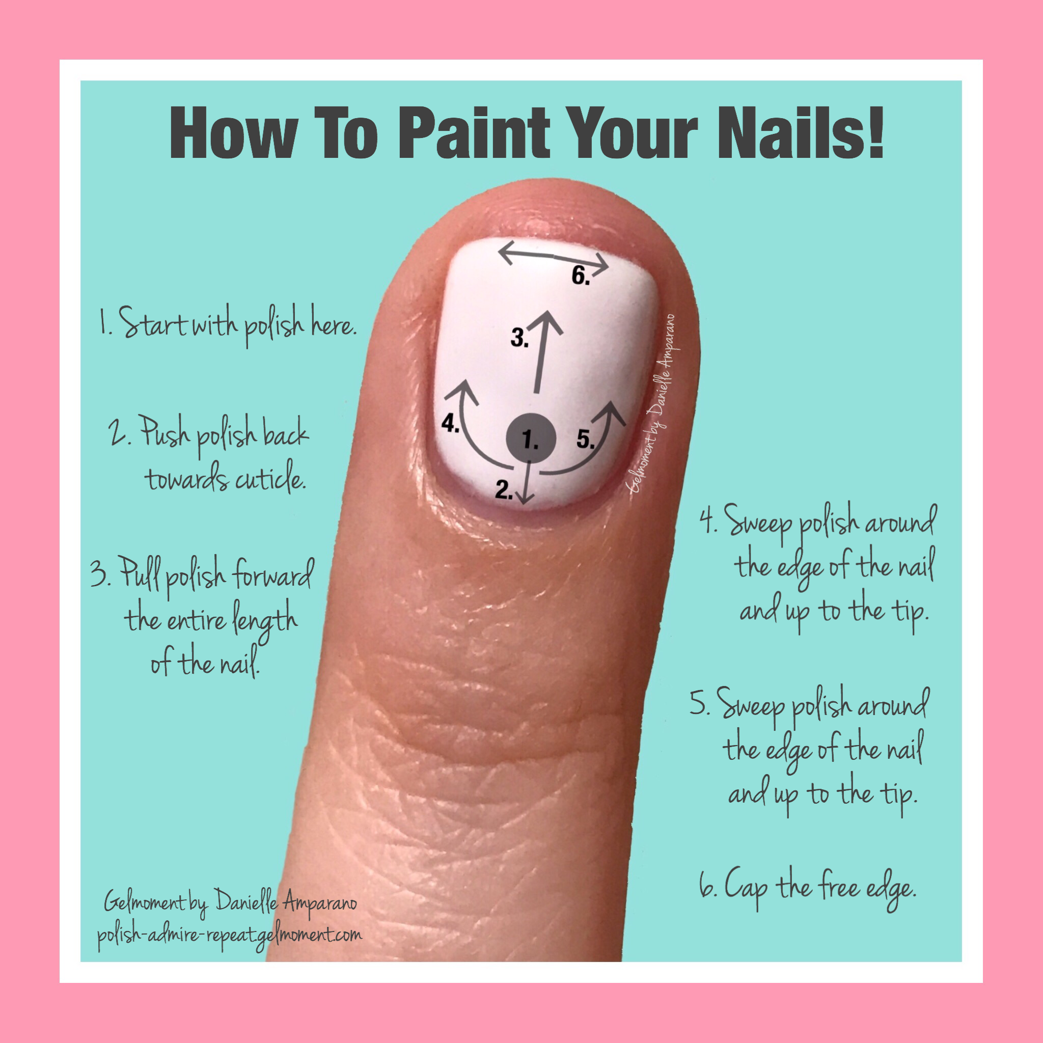 Here Is A Tip On How To Apply Your Gelmoment Gel Polish For A Flawless Application And A Long Lasting Manicur Diy Gel Manicure Gel Manicure Diy How To Do Nails