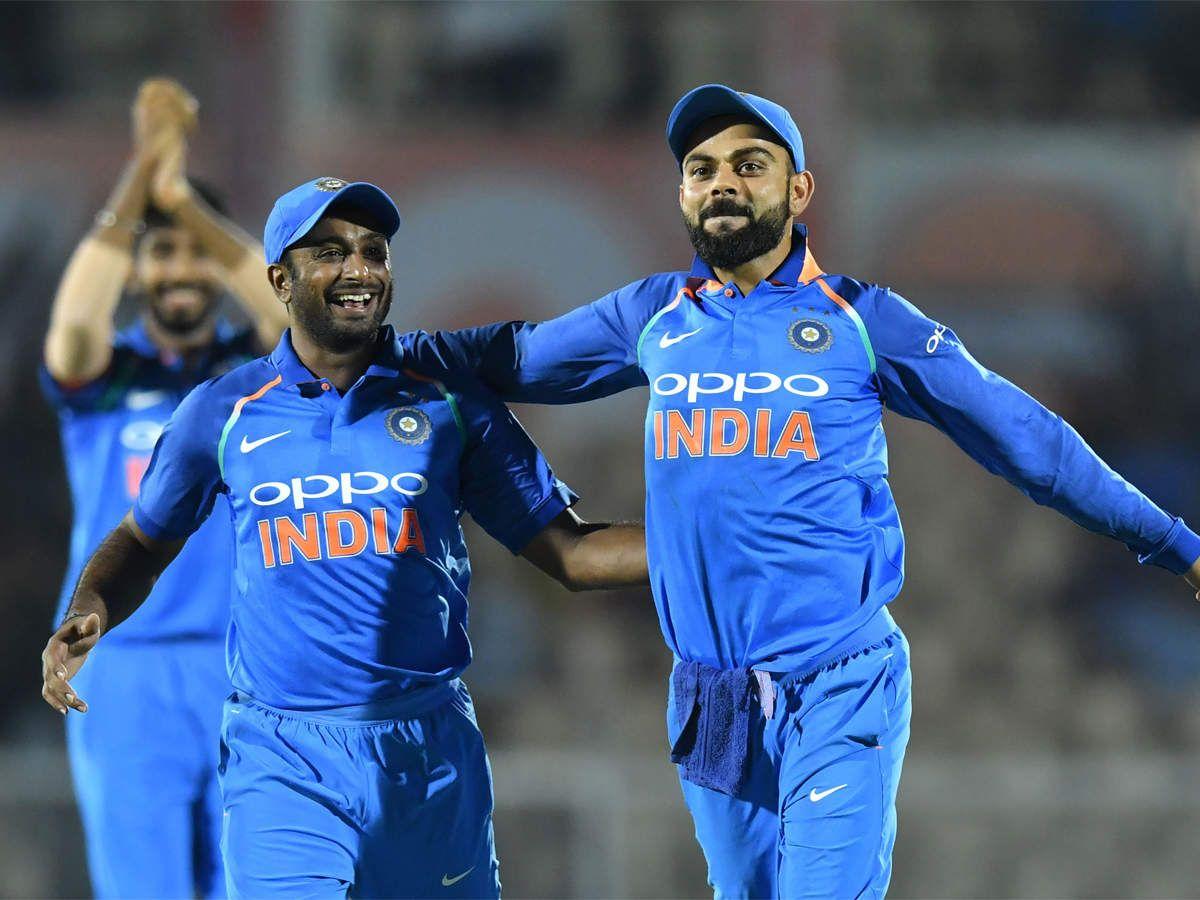 Happy that someone intelligent is batting at No.4 Kohli