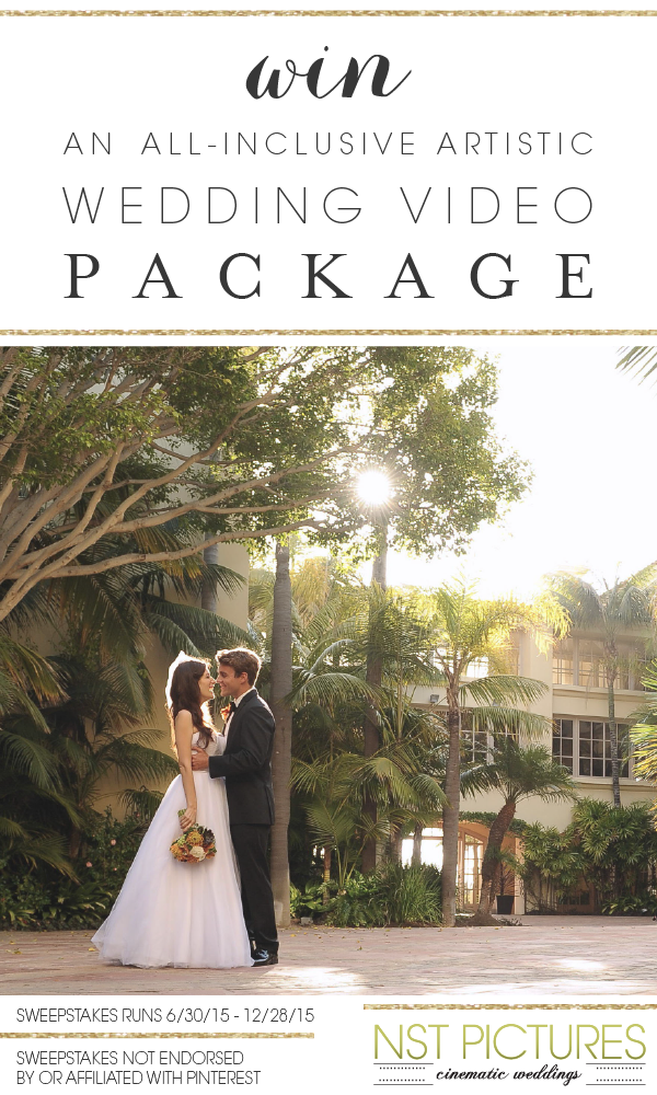 Click Through To Sign Up Sweepstakes Entries Valid From 6 30 15 12 28 15 Sweepstakes Is Not Spo Wedding Video Packages Wedding Videography Artistic Wedding