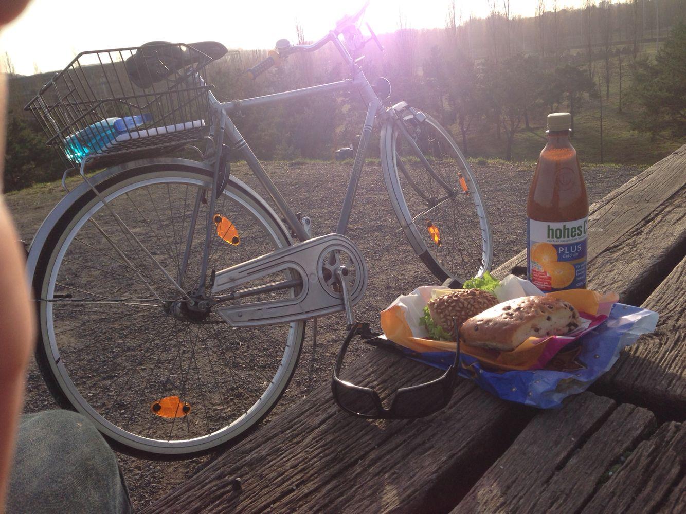 Frühstück bike