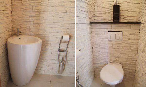 Jolie deco wc contemporain