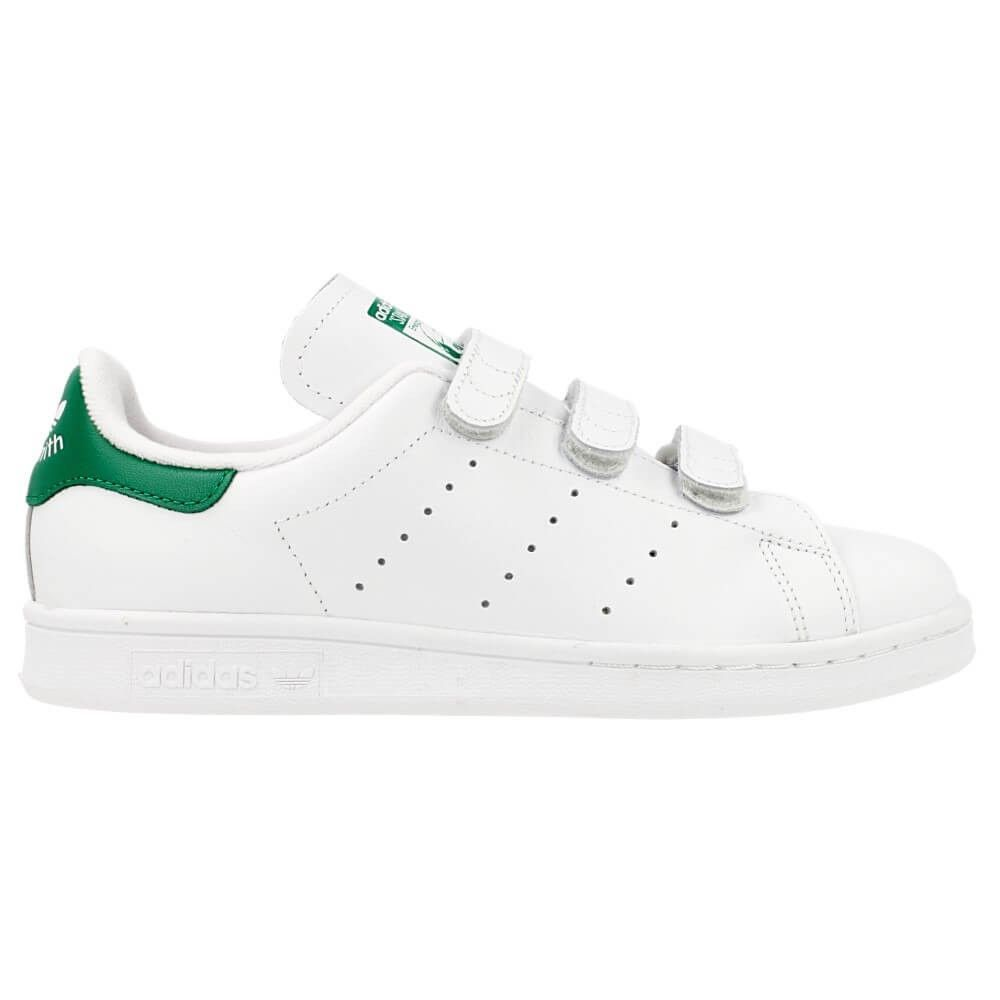 adidas stan smith di bianco / verde adidas stan smith, adidas stan