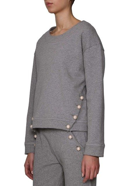 BOUTIQUE MOSCHINO Sweater with pearls