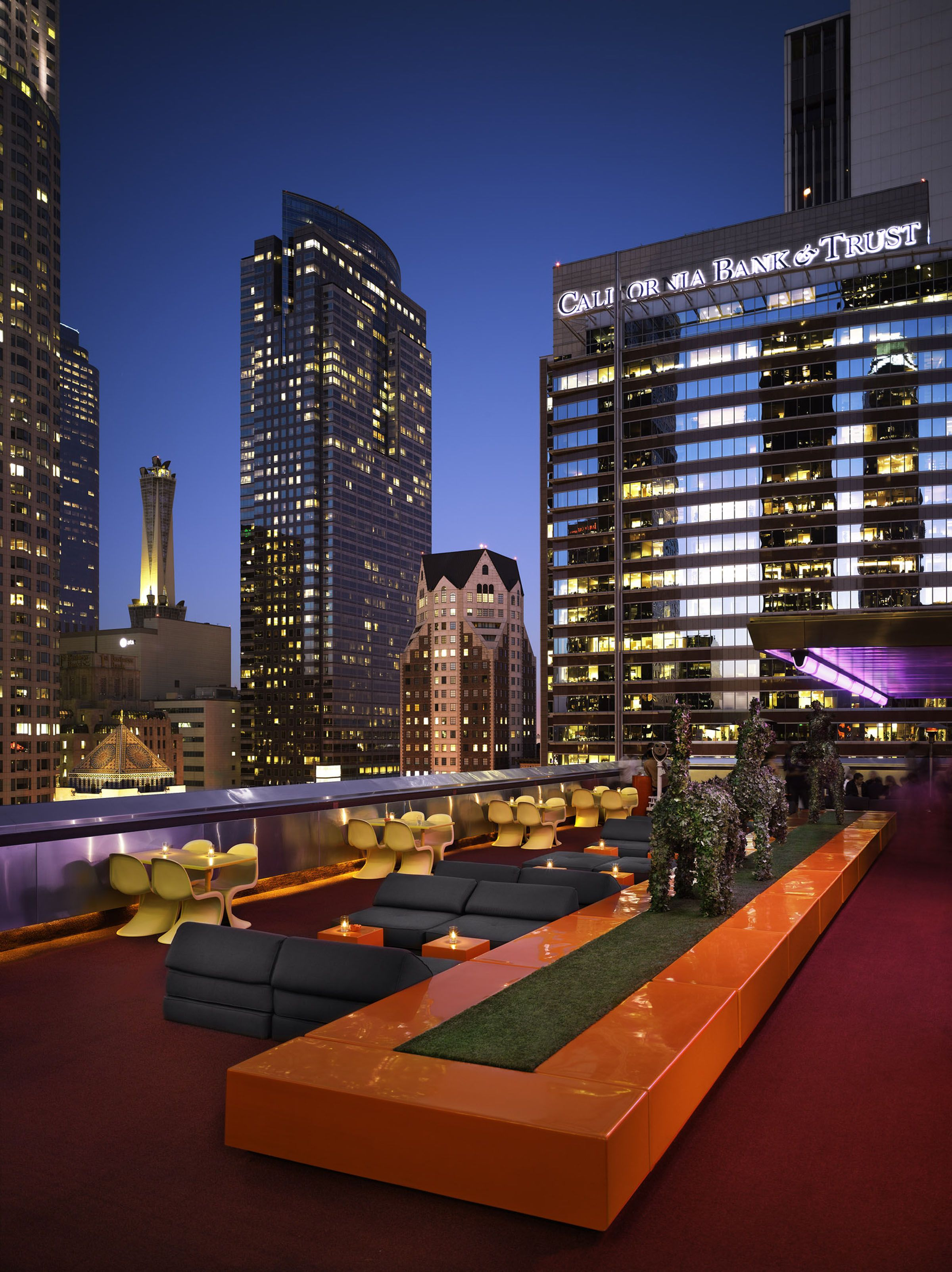 The Rooftop Bar, Downtown LA | Los angeles hotels, Best ...