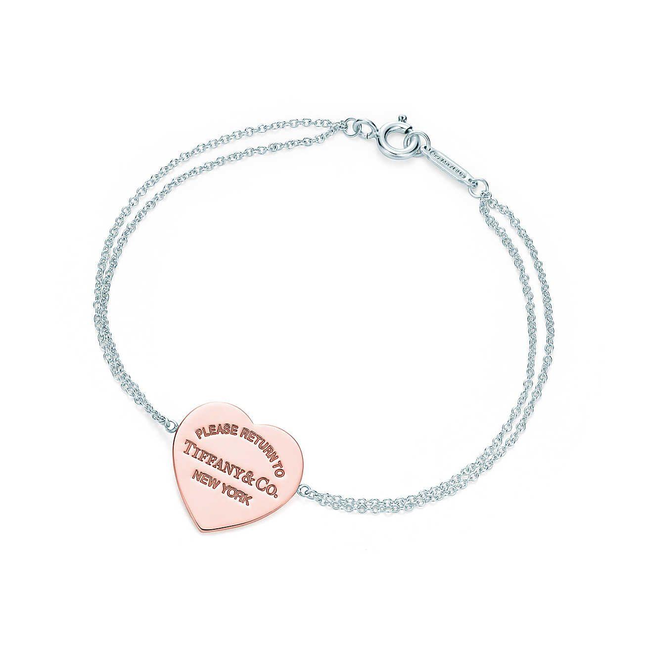 Return to Tiffany™  pulseira de coração   ACESSÓRIOS   ACCESSORIES ... 474b29108d