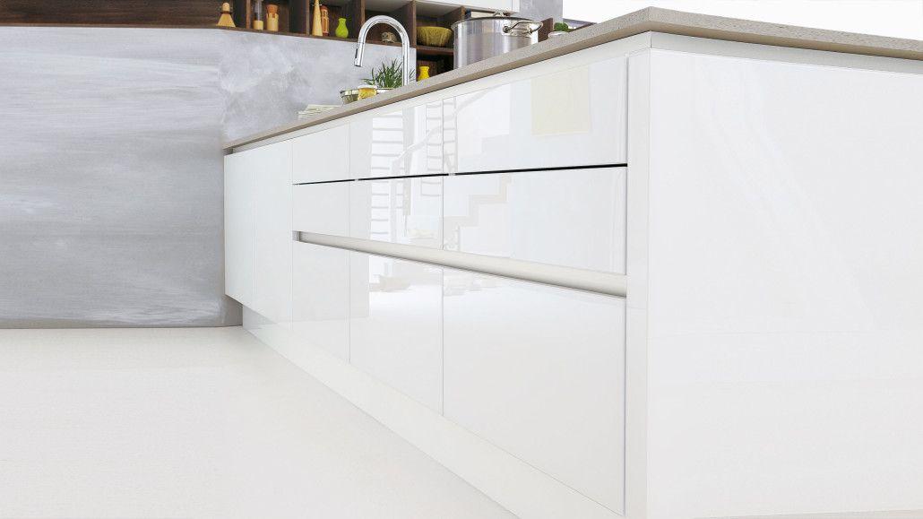 Culineo bietet 69 grifflose Fronten mit Gestaltungsvielfalt auf - wellmann küchen qualität