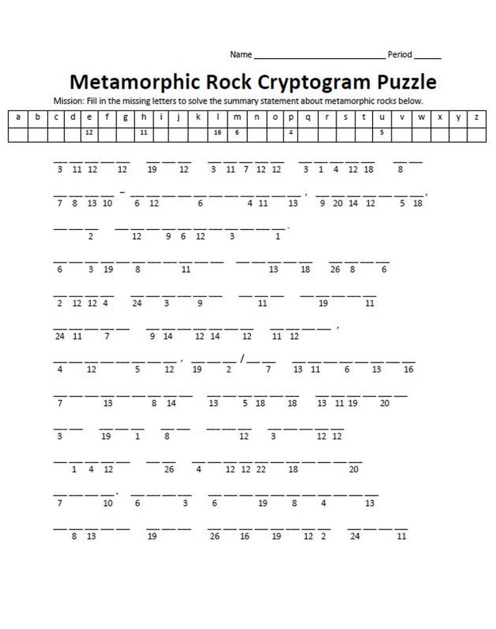 It is an image of Canny Cryptogram Puzzles Printable
