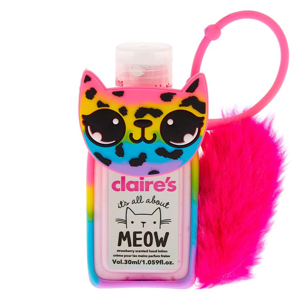 Claire S Lulu The Leopard Rainbow Hand Lotion Strawberry Hand
