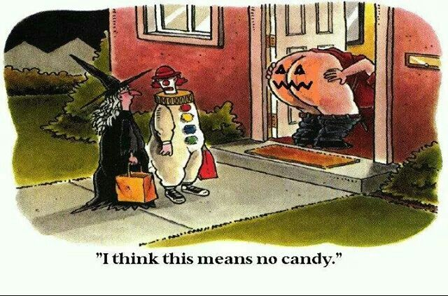 Superieur I Think This Means No Candy Funny Witch Funny Quotes Halloween Halloween  Pictures Happy Halloween Halloween Images Halloween Ideas Clown Halloween  Humor ...