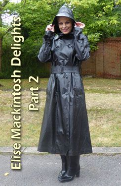Rubber raincoat fetish stories
