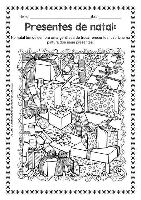 O verdadeiro Papai Noel - Atividades Adriana