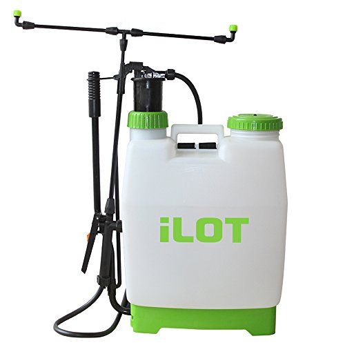 Ilot Backpack Sprayer 4 Gallon With 5 Different Nozzle Ti Small Greenhouse Kits Sprayers Greenhouse Kits For Sale