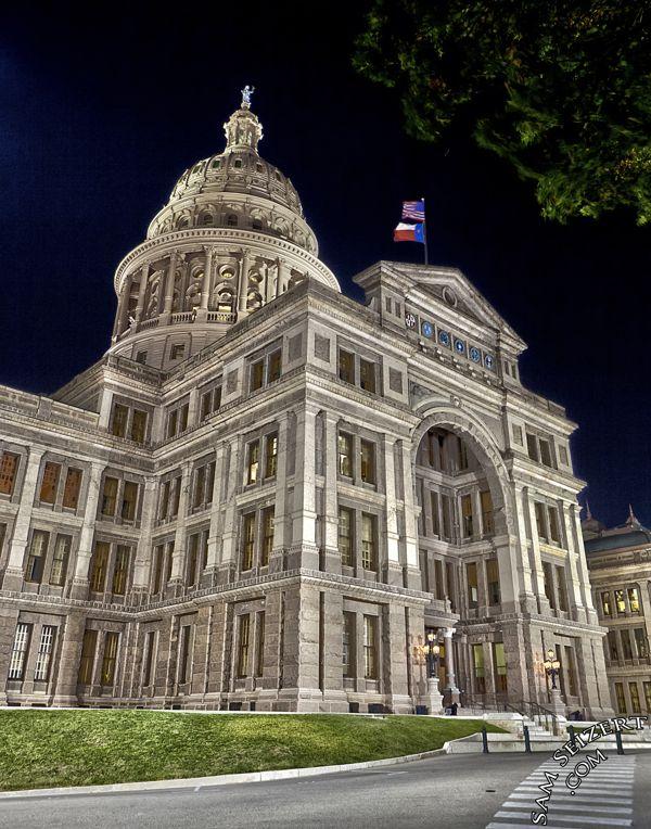 Texas State Capitol Building In Austin Texas By Sam Seizert Via Behance Austin Texas Texas State Capitol Capitol Building